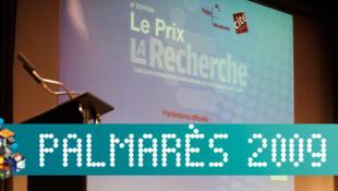 Palmarès du prix La Recherche 2009