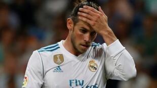 Dan wasan gaba na Real Madrid Gareth Bale.