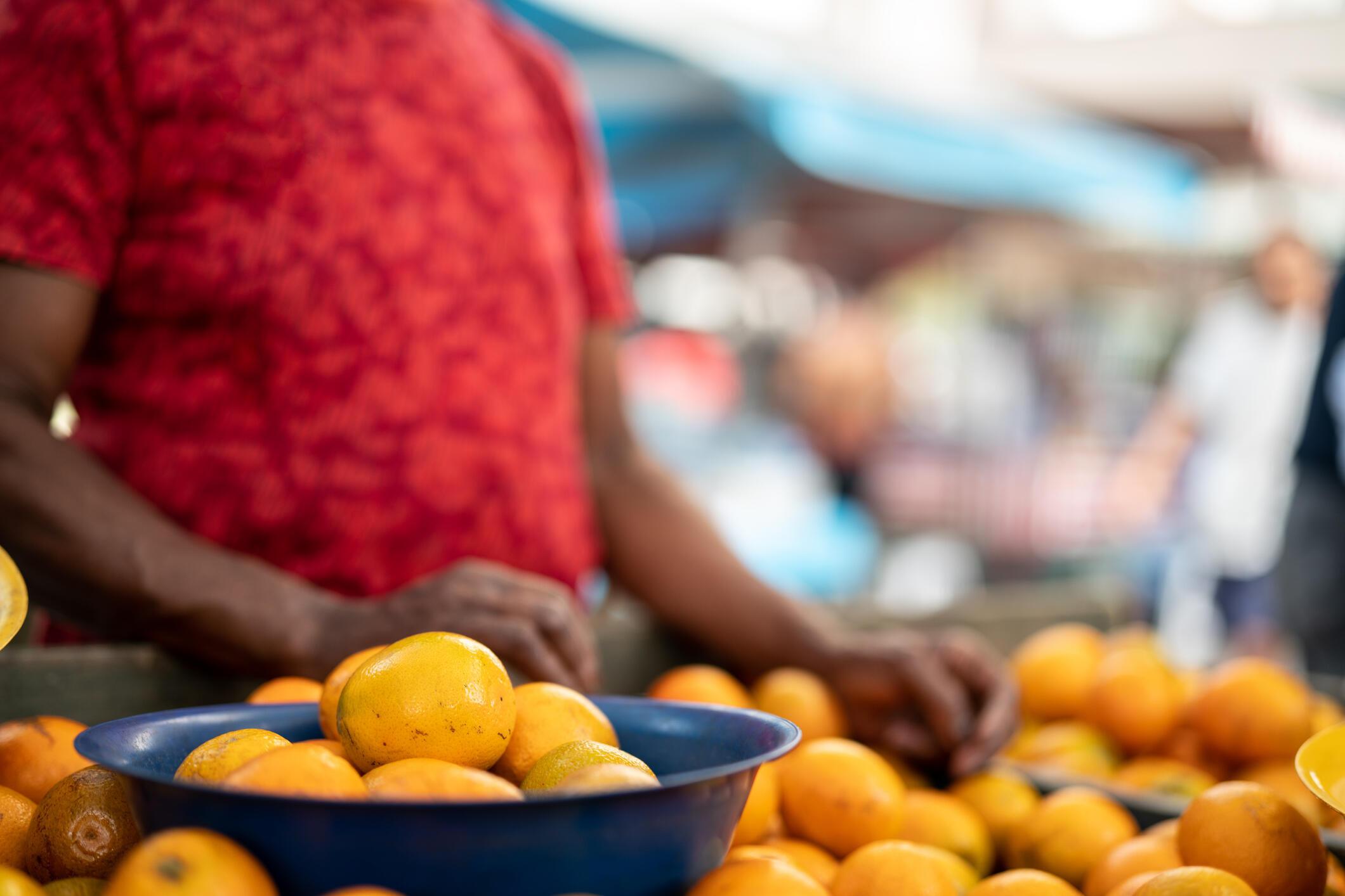 Ong Public Eye denuncia a precariedade de catadores de laranja no Brasil.