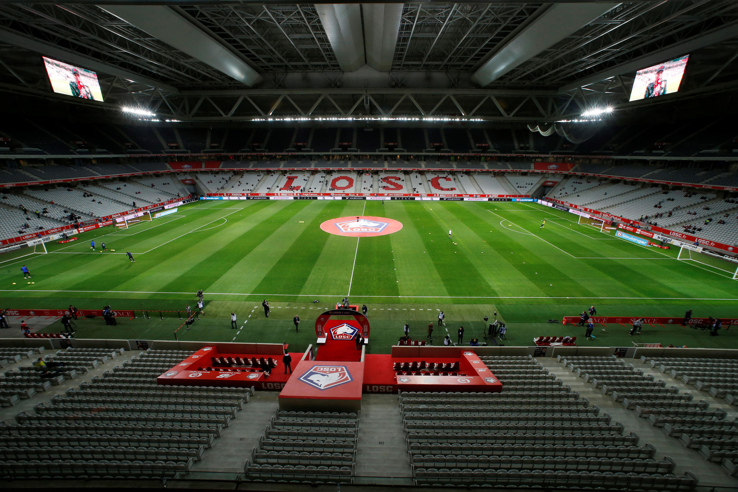 Lille's home Europa League ties will take place at the Stade Pierre Mauroy.