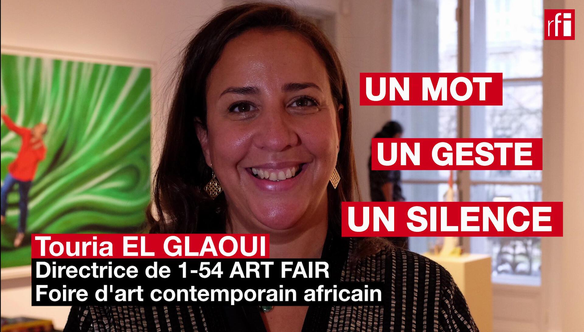 Touria El Glaoui, fondatriceet directricede la foire internationale d'art contemporain africain 1-54(uncontinent, cinquante-quatre pays).