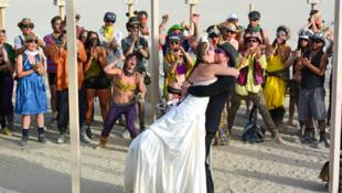 Le Burning Man se veut le pèlerinage annuel de la nouvelle contre-culture américaine.