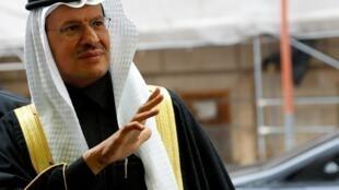 Bộ trưởng Năng Lượng Ả Rập Xê Út Abdulaziz bin Salman, tới dự cuộc họp của OPEC, Vienna, Áo, ngày 05/12/2019