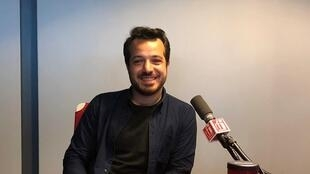 L'écrivain Mahir Guven dans les locaux de RFI, le 31 mai 2018.