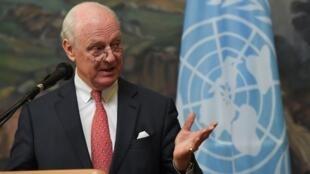 استفان دمیستورا فرستادۀ ویژۀ سازمان ملل به سوریه