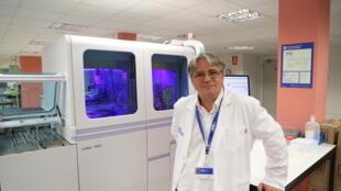 Dr. Francisco Rodríguez Frías, director del Laboratorio de Enfermedades Hepáticas del Hospital Vall d'Hebron, Barcelona.