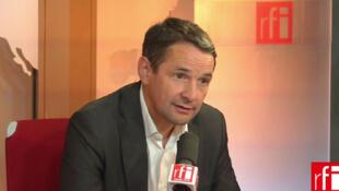 Thierry Mandon, secrétaire d'Etat  auprès du Premier ministre, chargé de la Réforme de l'Etat et à la Simplification.