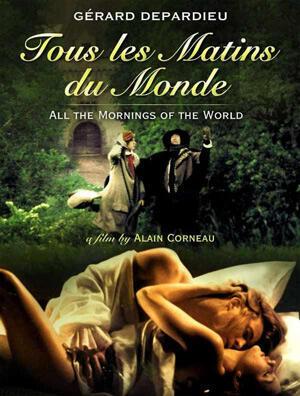 """""""Tous les matins du monde"""" avec Gérard et Guillaume Depardieu, et Jean-Pierre Marielle (1991)"""