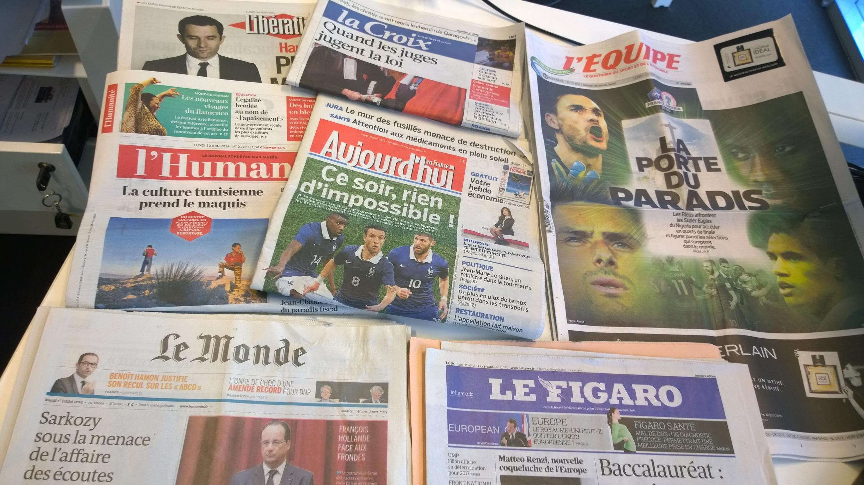Diários franceses 30/06/2014