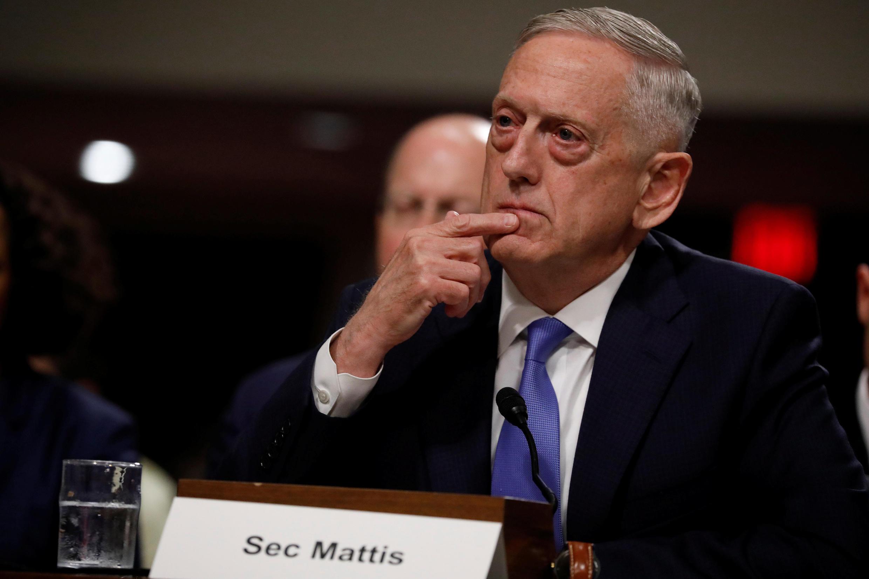Waziri wa Ulinzi wa Marekani James Mattis.