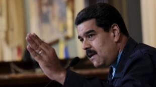 Tổng thống Venezuela, ông Nicolas Maduro.