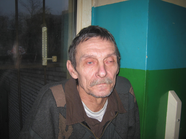 """Один из обитателей """"Ночлежки"""" Сергей Покровский"""