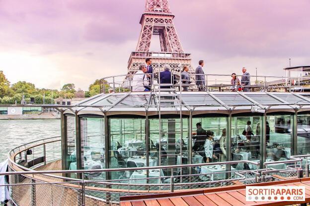 """法國廚神杜卡斯在塞納河開啟""""水上餐廳""""  (Ducasse sur Seine)"""