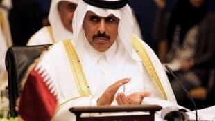 Gwamnan babban bankin kasar Qatar Sheikh Abdullah bin Saoud al-Thani