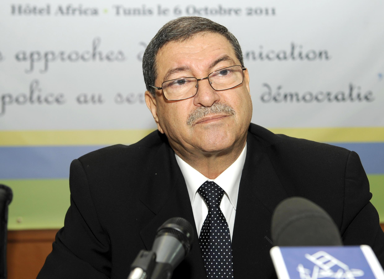 Le nouveau Premier ministre tunisien, Habib Essid nommé le 5 janvier 2015 (photo datant de 2011).