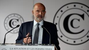 Pierre Moscovici, premier président de la Cour des comptes, le 30 juin 2020.