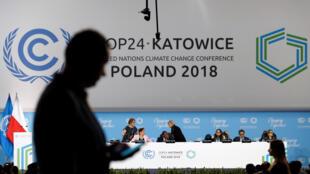 Ouverture de la 24ème conférence de l'ONU pour le climat (COP24), à Katowice, en Pologne, le 2 décembre 2018.