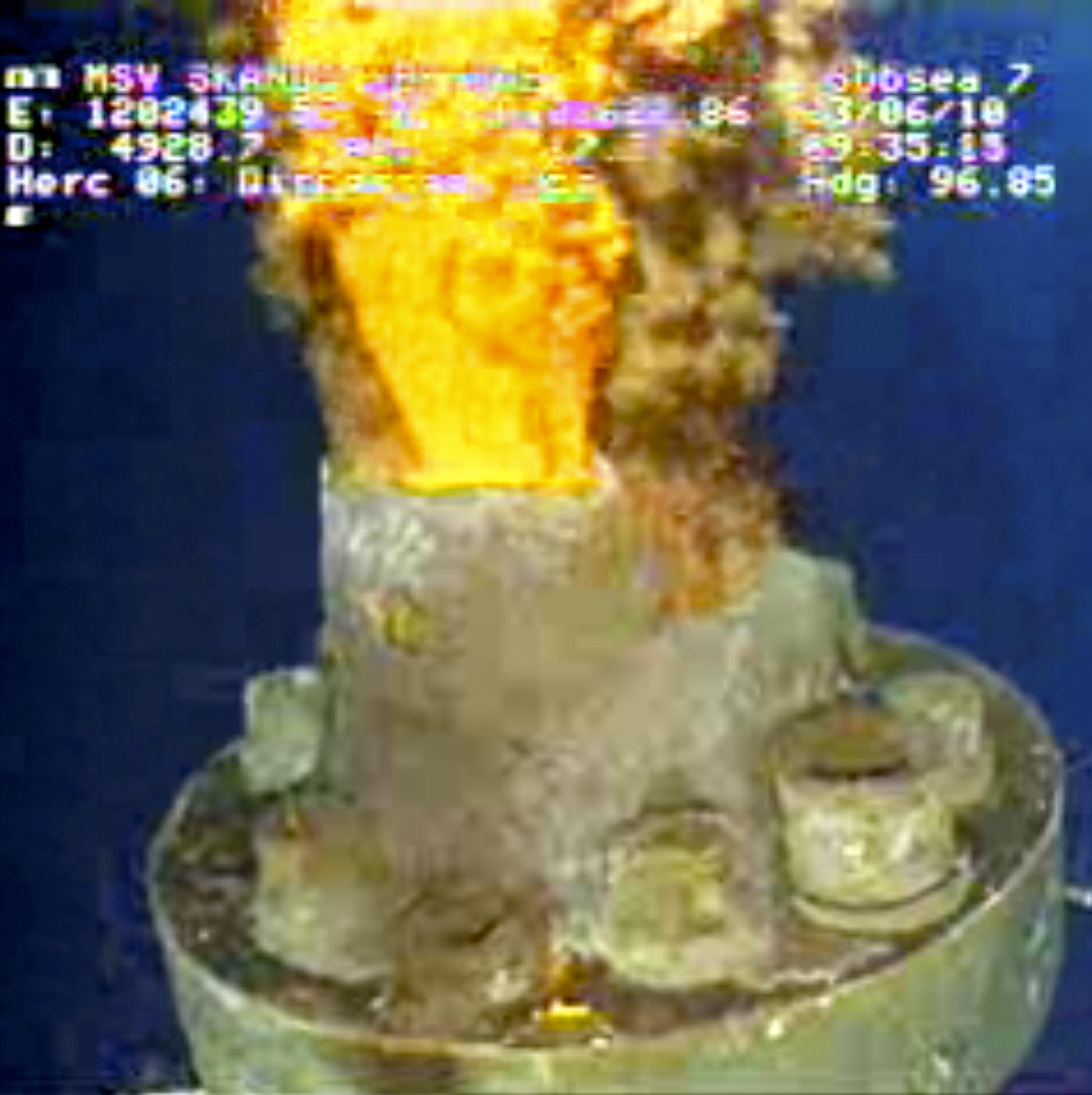 Саркофаг над скважиной БП в Мексиканском заливе