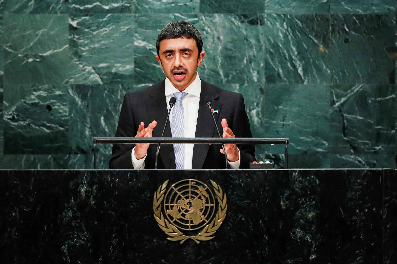 وزیر امورخارجه امارات متحده عربی در سازمان ملل متحد