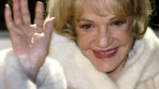 法國備受敬重的女星讓娜•莫羅(Jeanne Moreau)