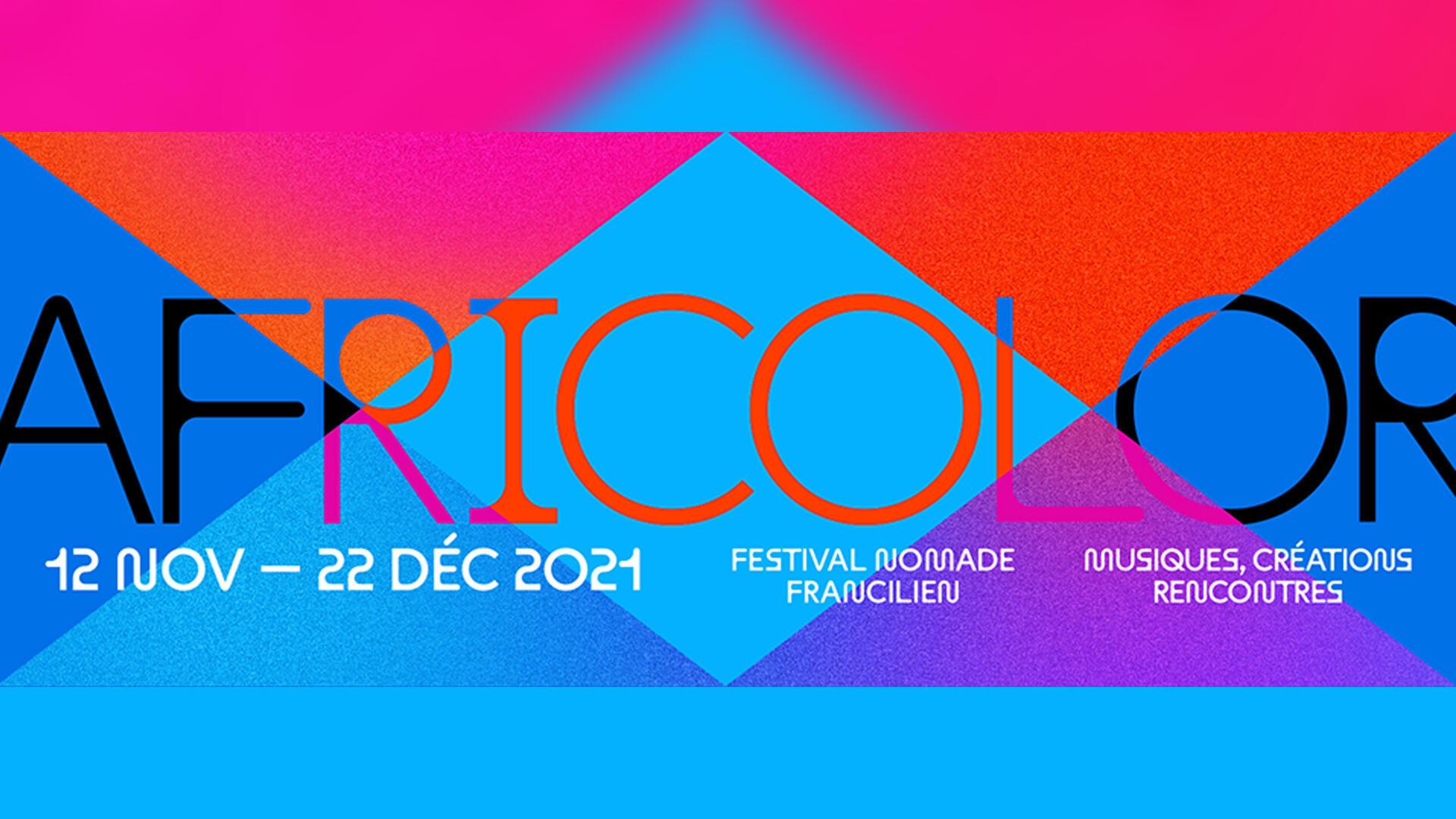 Musique - affiche africolor - musiques du monde 23102021