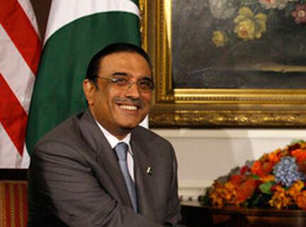 Asif Ali Zardari.