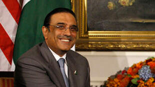 Le président pakistanais Asif Ali Zardari.