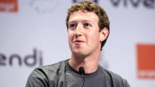 Facebook founder and CEO Mark Zuckerberg attends the eG8 forum in Paris.
