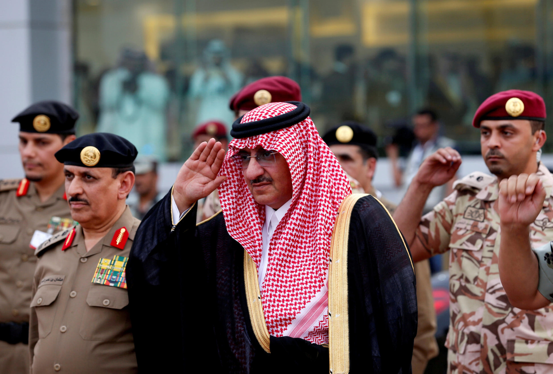 Yariman Saudiya mai jiran gado kuma ministan cikin gida Mohammed Bin Nayef
