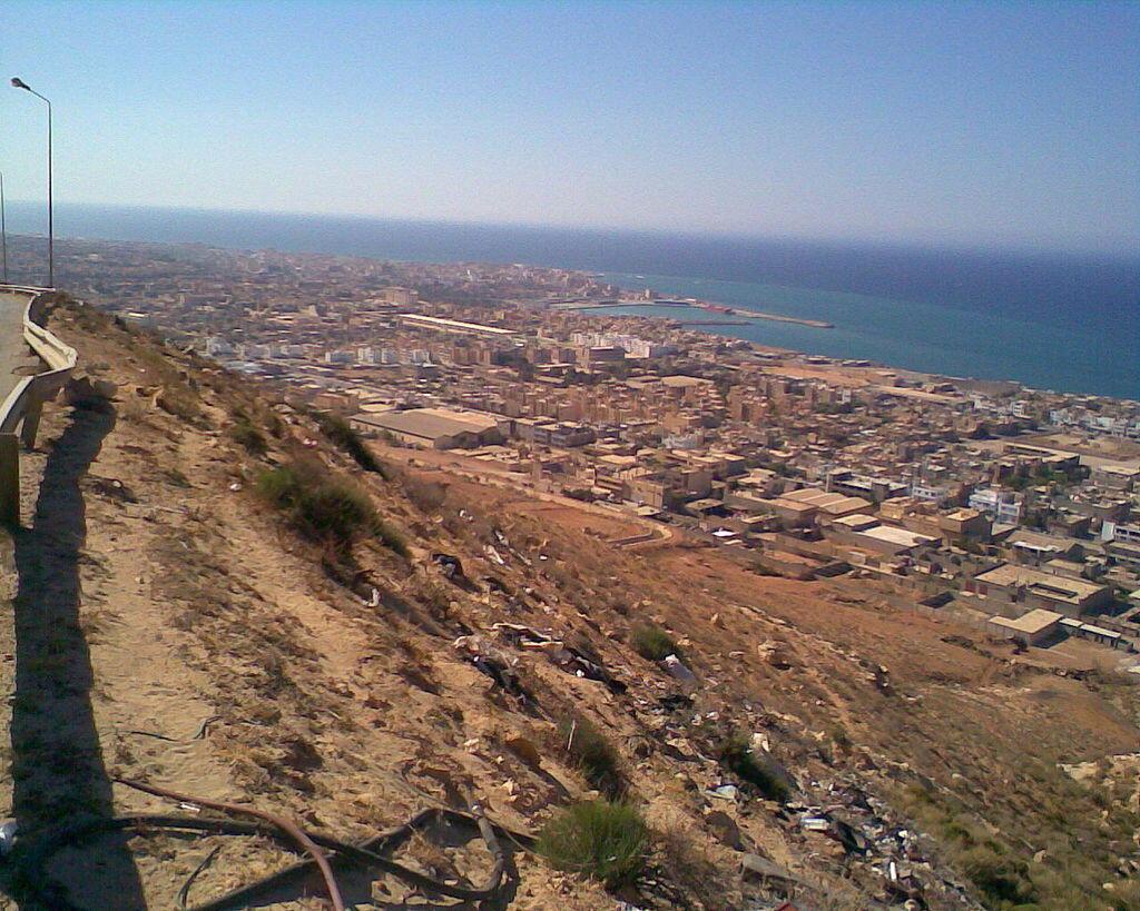 Port de Derna, Libye.