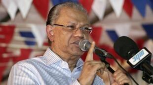L'ex-Premier ministre mauricien, Navin Ramgoolam.