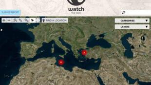Le site Watch The Med localise, par exemple, les bateaux qui n'ont rien fait pour sauver les naufragés.