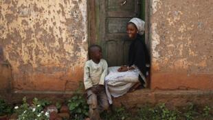 A Bambari, en République centrafricaine, le vendredi 13 juin.