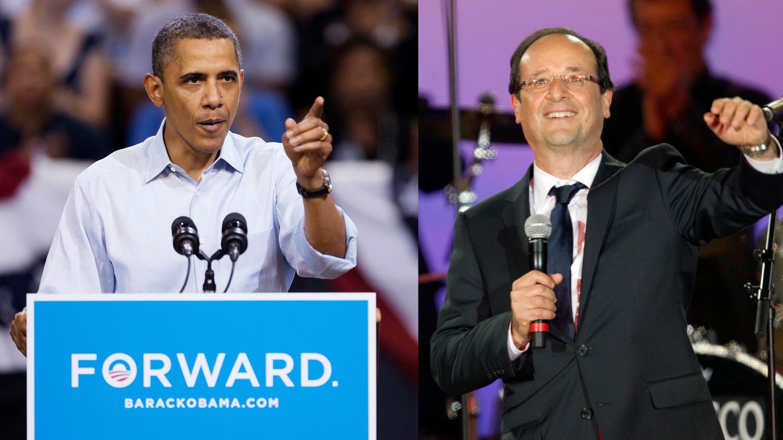 As propostas do presidente eleito François Hollande são muito mais próximas das ações do governo Obama do que as do candidato derrotado Nicolas Sarkozy.