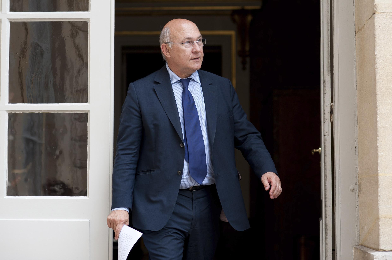 Michel Sapin, ministre du Travail en 2012. Il avait annoncé une revalorisation du Smic de 2%, à partir du 1er juillet 2012.