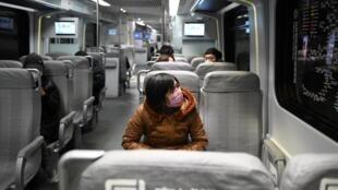 中国北京地铁2020年3月5日照片