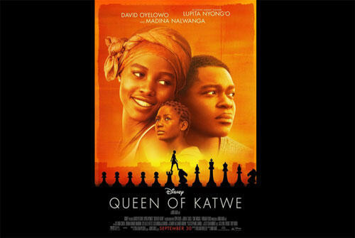 Affiche du film « Queen of Katwe » tourné en Ouganda.