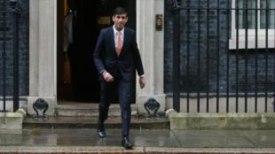 Le ministre britannique des Finances, Rishi Sunak.