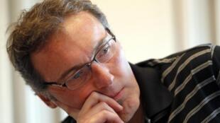 Le sélectionneur de l'équipe de France, Laurent Blanc.