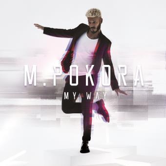 """Hình bìa album """" My Way"""" của Pokora."""
