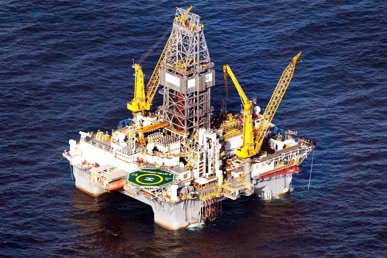Ảnh minh họa: Một giàn khoan dầu khí trên biển