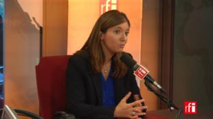 Aurore Bergé sur RFI le 6 septembre 2017.
