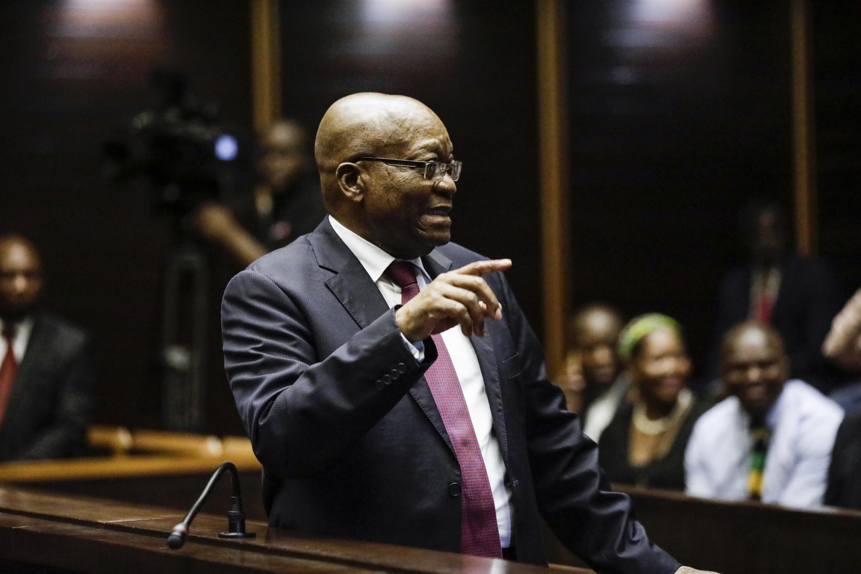 Jacob Zuma a été condamné à quinze mois de prison pour outrage à la justice. (Photo d'illustratrion)