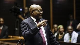 Zuma is accused of taking a rakeoff from a 1999 arms deal with French giant Thales