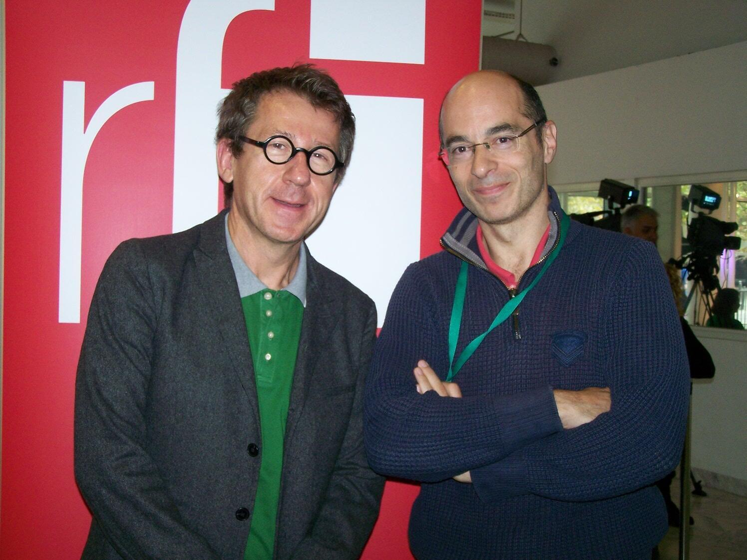 Jamie Gourmaud et Bernard Werber