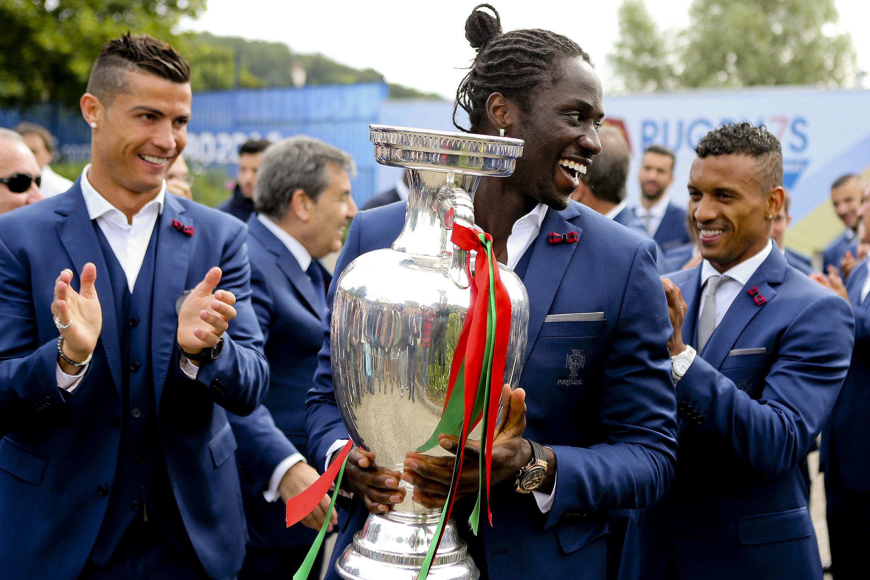 Éder, avançado português que marcou o golo solitário na final do Euro 2016, que daria o primeiro título continental a Portugal.