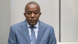 Alfred Yekatom kiongozi wa zamani wa kundi la Anti-Balaka katika Mahakama ya Kimataifa ya ICC mjini Hague Novemba 23 2018