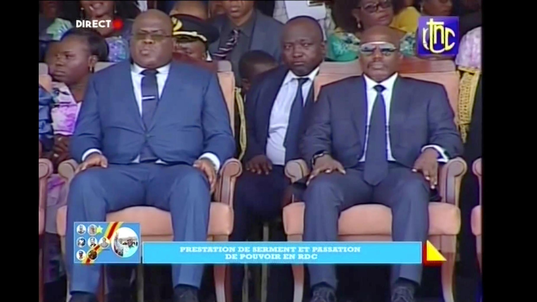 Felix Tshisekedi, tomou posse como Presidente da RDC,  sucedendo a Joseph Kabila