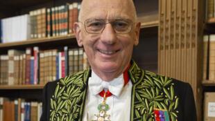 L'académicien Michel Zink.