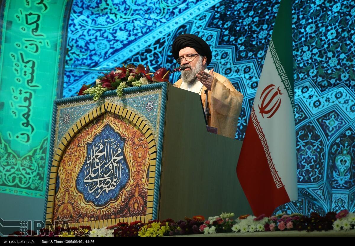 احمد خاتمی در نماز جمعه تهران